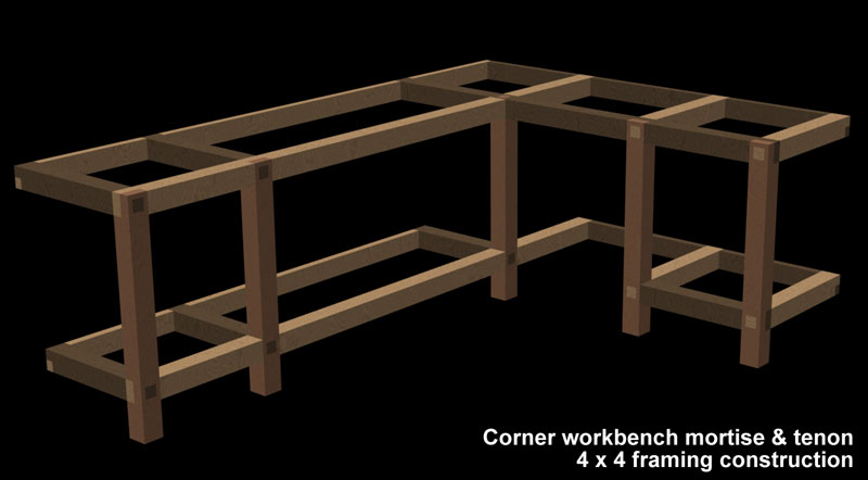 how to build a shop bench